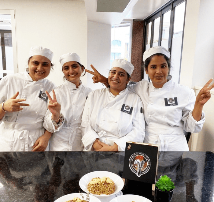 Cookery Hospitality Leadership Management Brisbane Sydney School College Gamma
